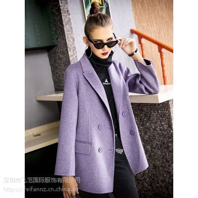 飞范女装系列之女式毛呢外套