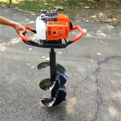 农用果树移栽挖坑机 大型汽油螺旋钻孔机