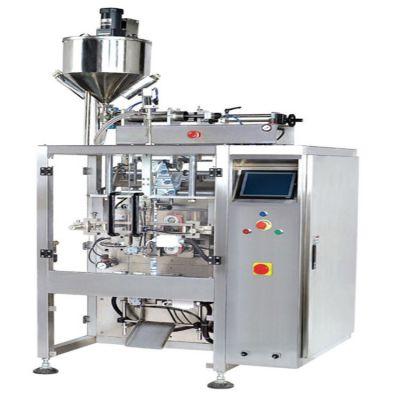 自动上料立式包装机 法德康320款液体包装机械背封液体包装机设备