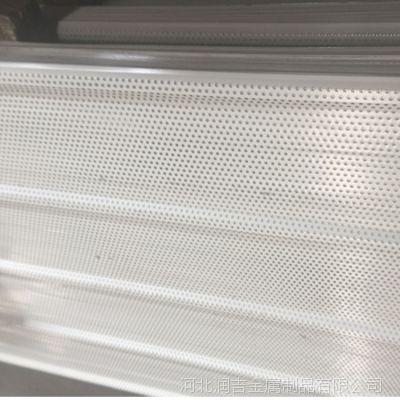 镀铝锌冲孔压型钢板 定制各型号冲孔板成就体育馆辉煌