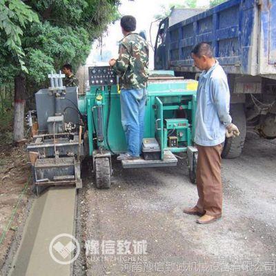 江苏路沿石机,江苏路缘石拦水带成型机