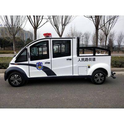 西安大雁塔观光游览车 景区巡逻电瓶车 皮卡电动巡逻车