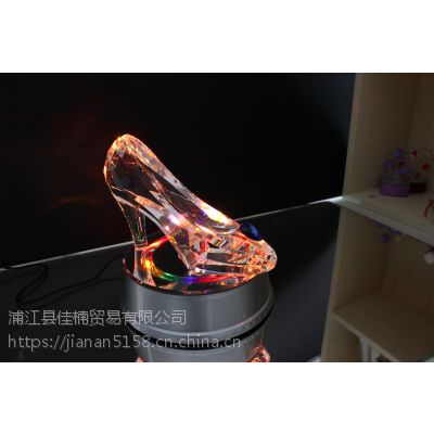 水晶鞋礼品灯饰装饰送女生闺蜜生日礼物全手工DIY制作