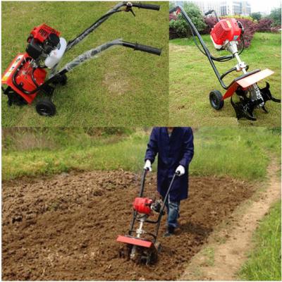 农业种植割草机 功能多锄草机 肩带微耕机批发