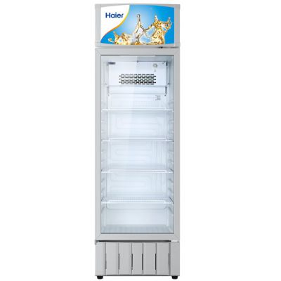 Haier/海尔单门冷藏柜 SC-300立式展示柜 单门饮料展示柜 陈列柜