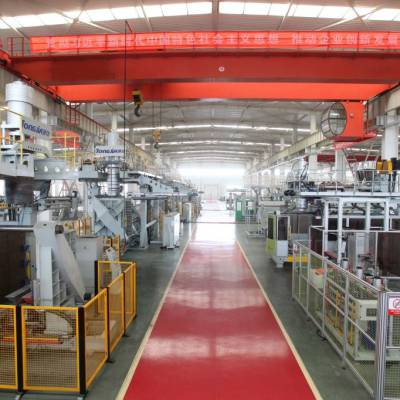 通佳1000升方桶全自动吹塑机吨桶生产线图片
