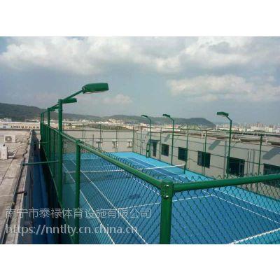 南宁球场围网设施 篮球场围网护栏 体育运动场防护网