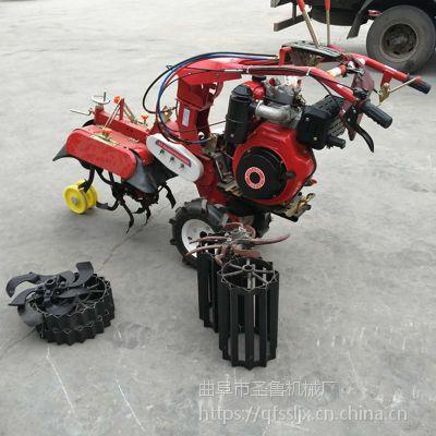 操作简单开沟机 农用小型开沟培土机 圣鲁牌