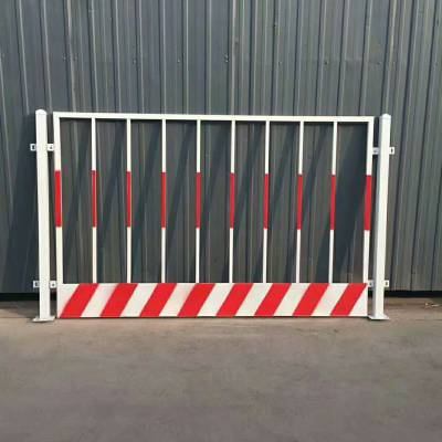 珠海工地红白基坑护栏 厂家直销东莞高空临边防护 防护栏杆
