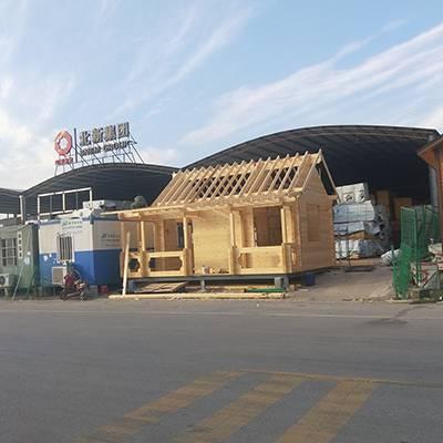 内蒙古木屋厂家-山西大茂森木制品公司-露台木屋厂家