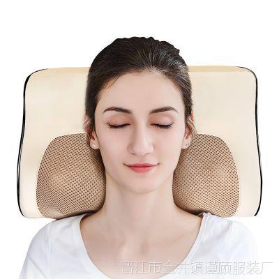 颈椎按摩仪器颈部腰部肩部家用智能揉捏加热多功能肩颈劲椎按摩枕