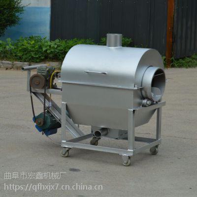 15斤电加热瓜子炒货机价格 菜籽芝麻大豆炒料机 200斤花生炒货机