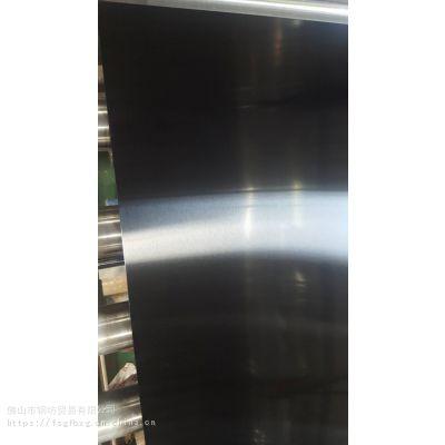 展厅,高档KTV娱乐场所专用--201/304黑钛砂板无指纹