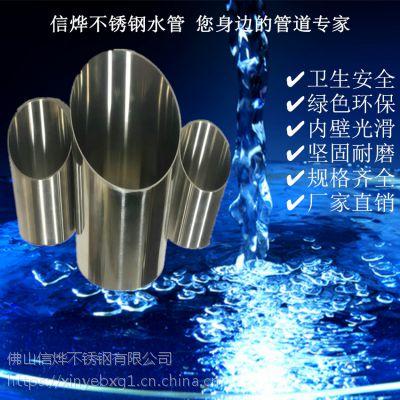 福建供应304不锈钢走水管道卫生级不锈钢水管厂家