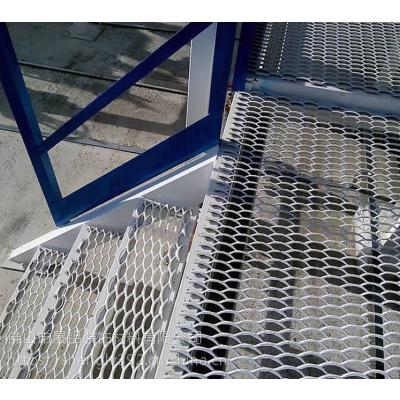 网板厂家定制 菱形孔铝网板 拉网铝单板 工程吊顶铝网格板