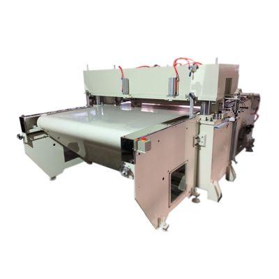 全自动80吨四柱液压下料机油压精密四柱裁断机循环式皮带冲床机