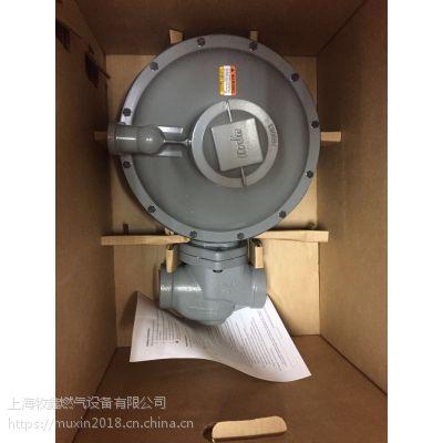 美国ITRON埃创B38N进口燃气减压阀dn50二级调压器