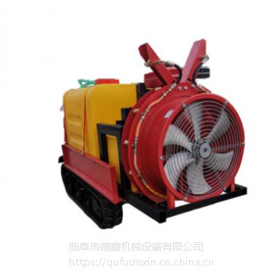 汽油手拉风送式果园打药机 高压喷雾柴油三轮车打药机 小麦打药机