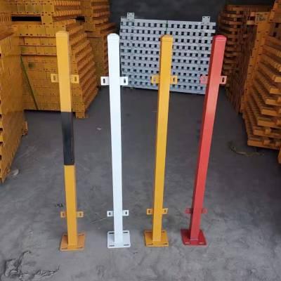 红白相间交通施工临时护栏网竖杆双板基坑临边安全防护栏厂家批发