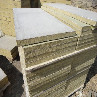 日照市防火阻燃A级岩棉复合板6公分大量供应