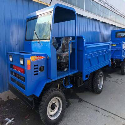 精品载重3吨矿用四不像 多功能双缸四不像 铁岭工程斗农用拖拉机