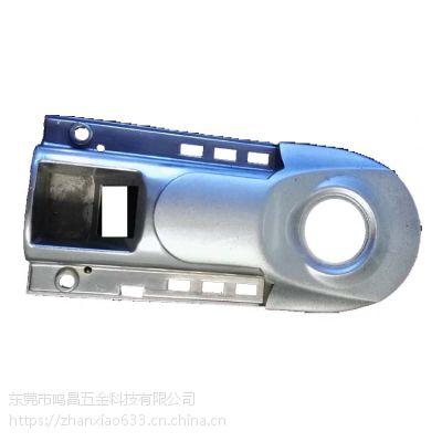 锌合金指纹门禁机外壳 考勤机外壳 精密保险柜密码锁外壳压铸加工