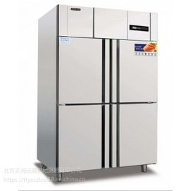 冰立方四门冰箱R4 全不锈钢冷藏柜 全铜管 直冷 四门单温冷藏冰箱
