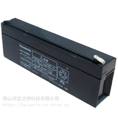 松下蓄电池LC-P122R2蓄电池12V2.2AH铅酸UPS质保三年全国包邮