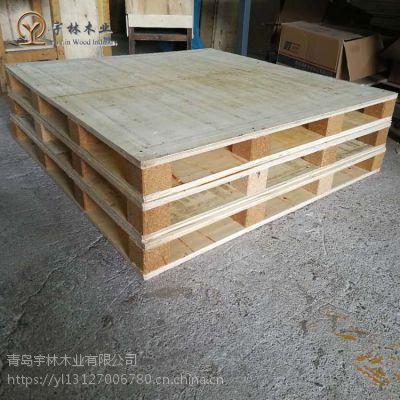 黄岛栈板木免熏蒸卡板木 木粉脚墩 专业定做成本低
