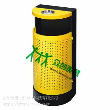 不锈钢定制垃圾桶 大号方形环卫户外环保垃圾桶 分类桶厂家批发 众创美景