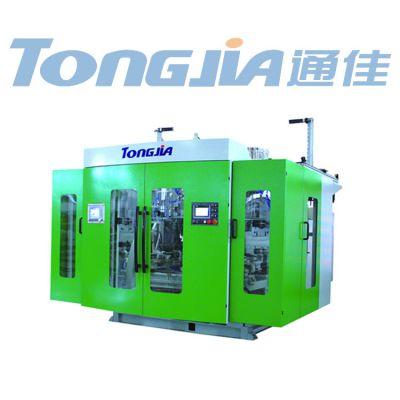 透析桶专用设备10L桶机器厂家通佳全自动双工位吹塑机图片