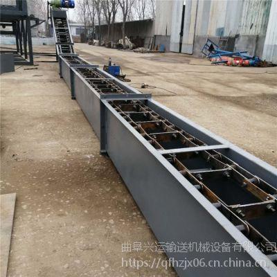 新疆干砂用刮板输送机 煤炭碎石用重型刮板输送机 兴运
