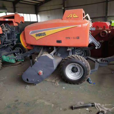 新款自走式玉米捡拾机 稻草收割粉碎打捆机 9YFQ-2.2型方捆打捆机