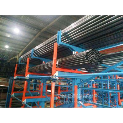厦门管材存放架安装操作 伸缩式管材货架厂家直销 棒料存放办法