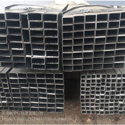 厂家直销友发国强Q235B镀锌管天津镀带矩形管
