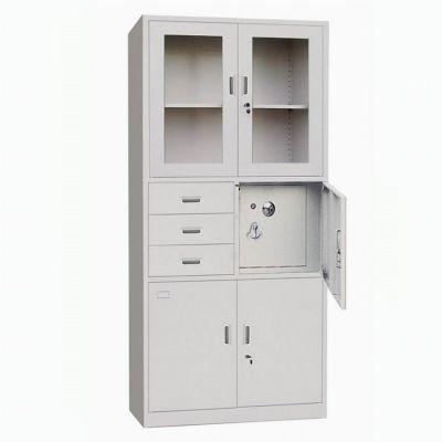 南昌办公家具文件柜铁皮柜钢制办公铁皮文件柜资料柜档案柜带锁凭证柜子定制