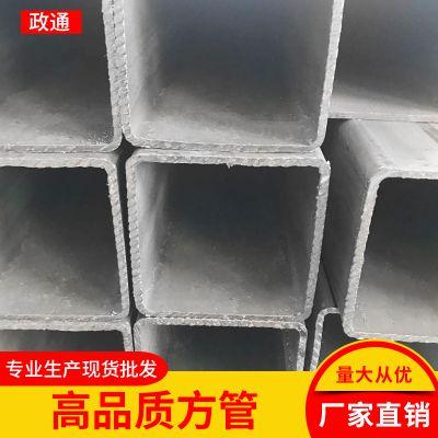浙江方管太阳能用管 批发零售Q235B矩形管 6米9米一应俱全大口径方管