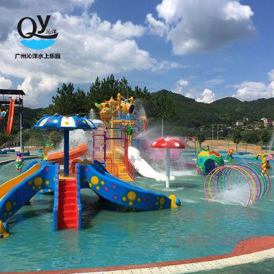 广州沁洋水上乐园设备供应 儿童水屋 戏水水屋