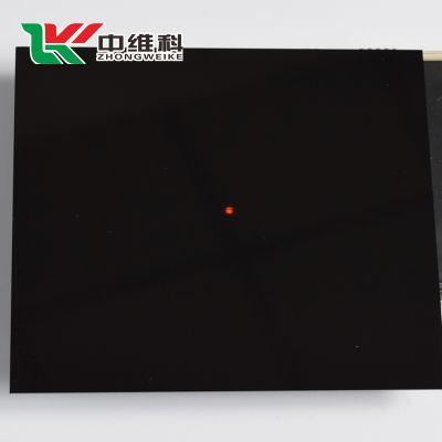 透红外黑色亚克力板 传感镜头用红外亚克力镜片 红外镜片切割