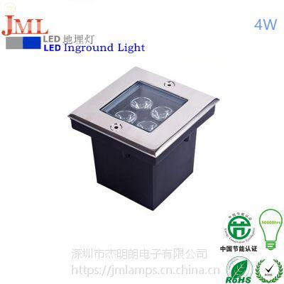 冷光源设计杰明朗色泽自然JML-UL-B04W led矩形方形4W广场公园照明灯