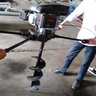 飞创汽油手提式种树挖坑机 拖拉机带动电线杆打眼机