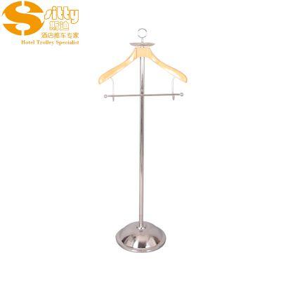 专业生产SITTY斯迪90.7516-1镜光不锈钢叭盘落地衣帽架/挂衣架