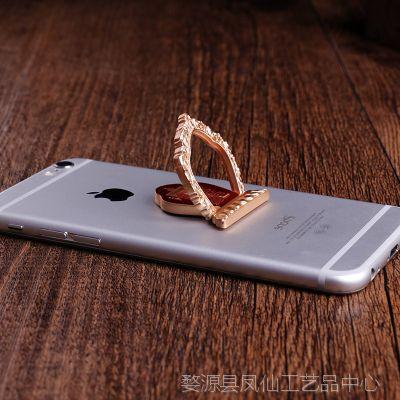 佛器精工 便携式十相自在指环通用平板手机支架卡扣粘贴式金属环