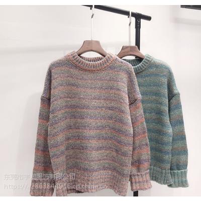 广东厂家便宜毛衣库存羊毛衫处理低价便宜库存毛衣2-5元地摊货批发
