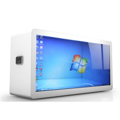 供应 透明液晶屏展示箱柜 / 透明液晶屏展示柜 / 透明广告柜 6寸---98寸(支持定制)