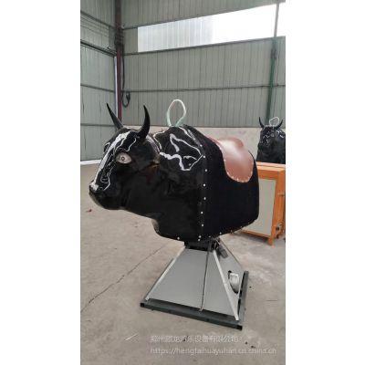 户外疯狂游乐设备西班牙斗牛机 游乐设施室外新款斗牛机 大型单人斗牛机玩具
