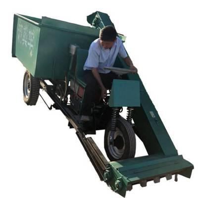 农用三轮式清粪车 全自动清粪车 羊粪牛粪清理机