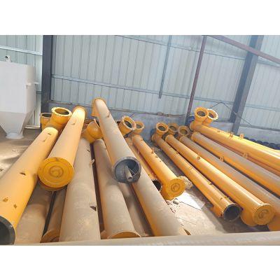 郑州恒泰混凝土搅拌站水泥螺旋输送机厂家219型6米