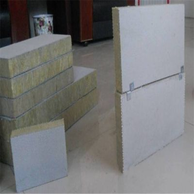 河津市龙骨填充岩棉复合板6个厚质量好价格优惠