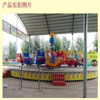 新款中型游乐场设备霹雳转盘娱乐项目儿童乐园必备新品